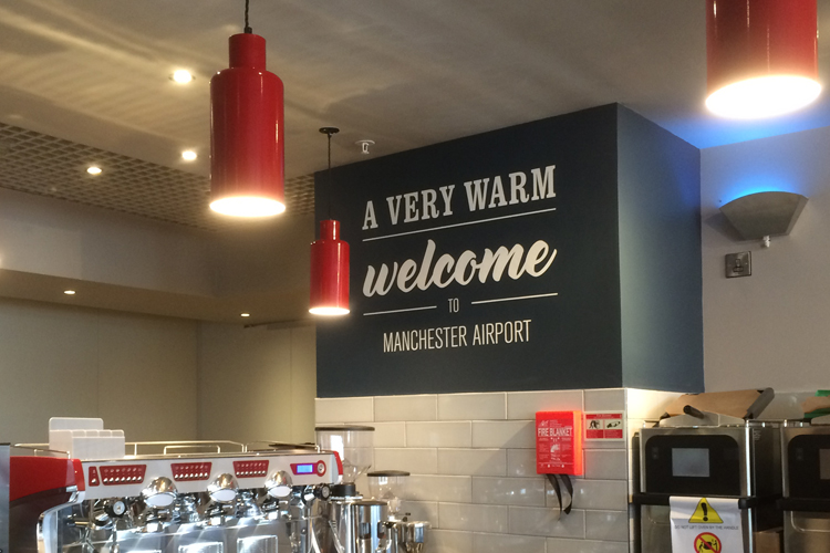 Costa Coffee Manchester Airport Into Electrical Solutions